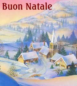 Immagine di buon Natale 2004 inviata dalla nostra lettrice Montagna Lauro