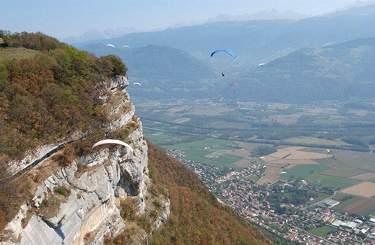 Valle del Gresivaudan vista dalla Chartreuse (Foto di Guerino De Masi)