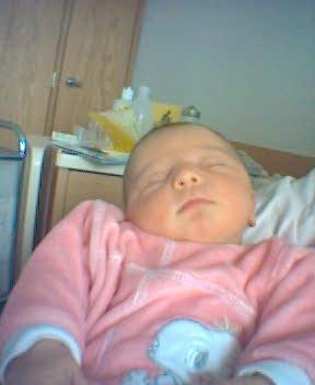 La piccola Martina Congiustì nata il 3 marzo 2004 a Winterthur (Svizzera)