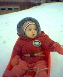 La piccola Martina Congiustì di Winterthur ha un anno