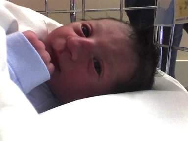 Il piccolo Mattia Cirillo