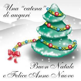 Immagine di buon Natale 2005 inviata dalla nostra lettrice Montagna Lauro