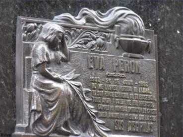 Tomba di Evita Peron nella Recoleta - Buenos Aires