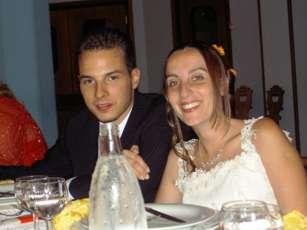 Lorenzo e Giusi Demasi, sposi 25 Giugno 2005