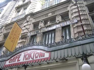 Cafè Tortoni e Academia Nacional del Tango - Buenos Aires